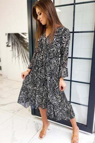 MELIVO dress black EY1357 dámské Neurčeno One size