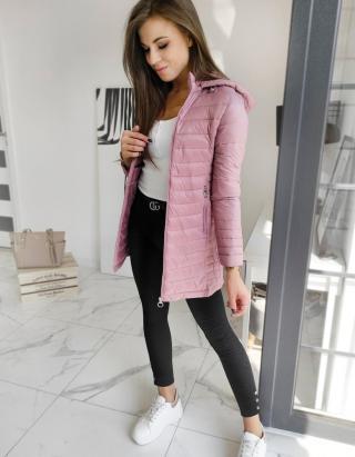 MELODI womens quilted coat pink TY1528 dámské Neurčeno S