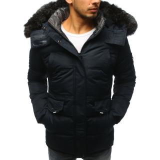 Men´s winter jacket navy blue  pánské Other XXL