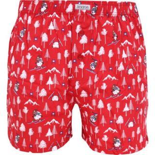 Men's shorts Andrie red  pánské Neurčeno M