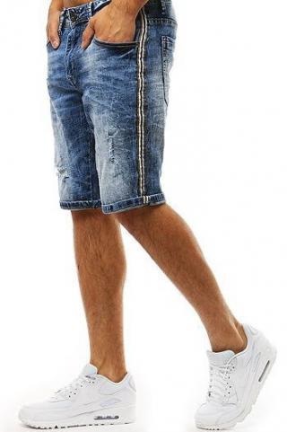 Mens blue denim shorts SX0931 pánské Neurčeno 28