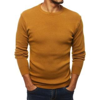 Mens camel pullover sweater WX1551 pánské Neurčeno XXL