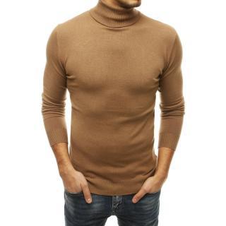 Mens camel turtleneck WX1530 sweater pánské Neurčeno XXL