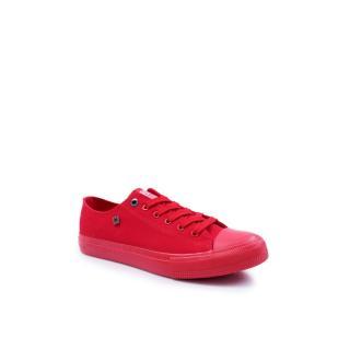 Mens Classic Low Sneakers BIG STAR AA174007 Red pánské Neurčeno 41