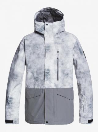 Mens jacket QUIKSILVER MISSION PRINTED BLOCK pánské No color L