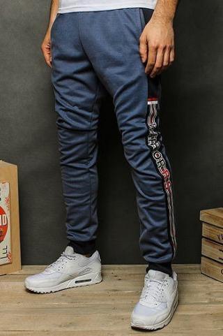 Mens navy blue sweatpants UX2488 pánské Neurčeno M