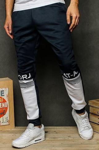 Mens navy blue sweatpants UX2525 pánské Neurčeno M
