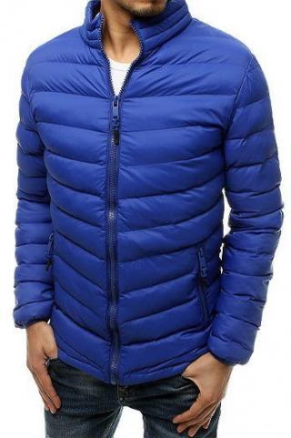 Mens quilted blue jacket TX3549 pánské Neurčeno M
