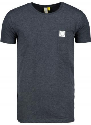 Mens T-shirt  Alife and Kickin Logo Pocket pánské Marine S