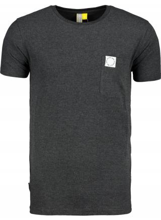 Mens T-shirt  Alife and Kickin Logo Pocket pánské Moonless S