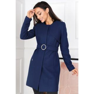 Merce Womans Coat Viola Navy Blue dámské 34