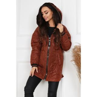 Merce Womans Jacket Bianka dámské Toffee 38