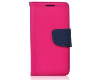 MERCURY Fancy Diary flipové pouzdro pro Apple iPhone 5,5S,SE růžovo-modré