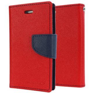 Mercury Fancy Diary flipové pouzdro pro Asus Zenfone2 ZE551 červeno-modré
