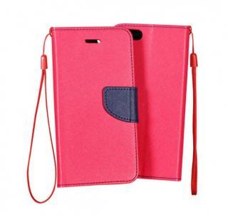 MERCURY Fancy Diary flipové pouzdro pro Huawei Honor 6 Plus, Pink/Navy