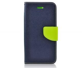 Mercury Fancy Diary flipové pouzdro pro Huawei P30 LITE, modro-limetkové