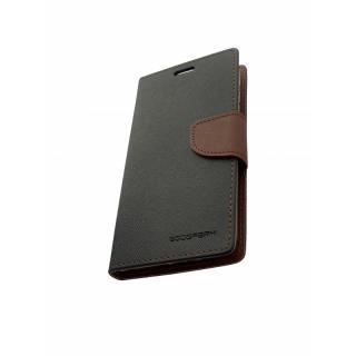 Mercury Fancy Diary flipové pouzdro pro Xiaomi Mi 8, black/brown