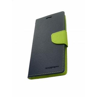 Mercury Fancy Diary flipové pouzdro pro Xiaomi Mi 8, navy/lime