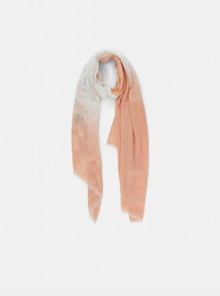 Meruňkový šátek Pieces Terra dámské meruňková