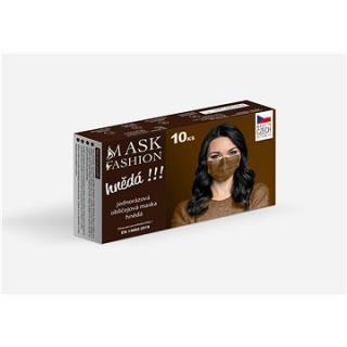 Mesaverde jednorázová obličejová maska 10ks - hnědá