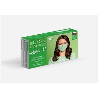 Mesaverde jednorázová obličejová maska 10ks - zelená