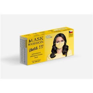 Mesaverde jednorázová obličejová maska 10ks - žlutá