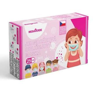 Mesaverde Jednorázová rouška dívčí 25 ks