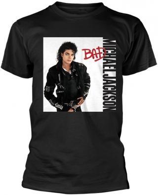 Michael Jackson Bad Black T-Shirt S pánské S