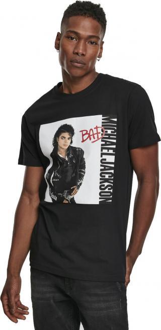 Michael Jackson Bad Tee Black L pánské L