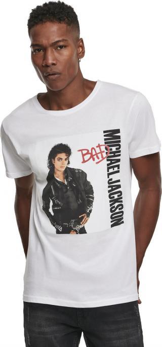 Michael Jackson Bad Tee White XL pánské XL