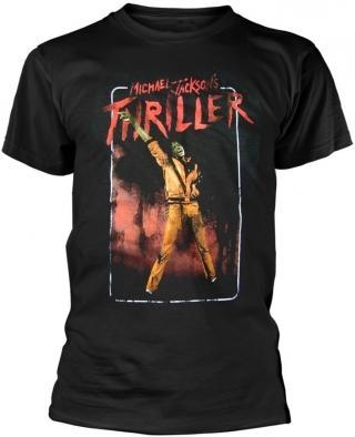 Michael Jackson Thriller T-Shirt XL pánské Black XL