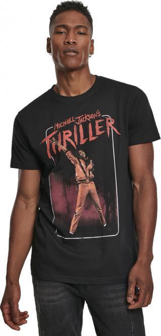 Michael Jackson Thriller Video Tee Black XL pánské XL