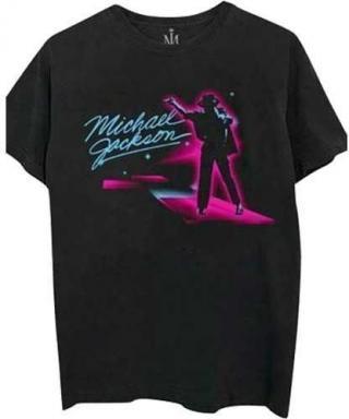 Michael Jackson Unisex Tee Neon XXL Black 2XL
