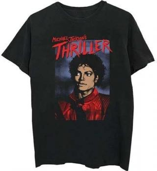 Michael Jackson Unisex Tee Thriller Pose XXL Black 2XL