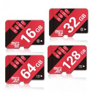 Micro SD karta 8GB až 128GB Velikost: 16GB
