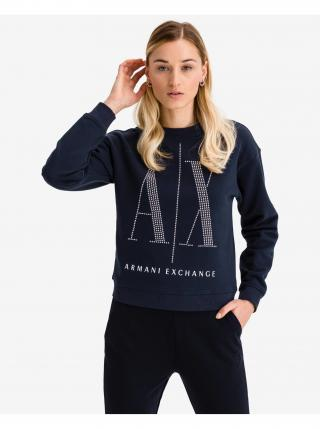 Mikina Armani Exchange dámské modrá XS