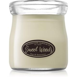 Milkhouse Candle Co. Creamery Sweet Woods vonná svíčka Cream Jar 142 g 142 g