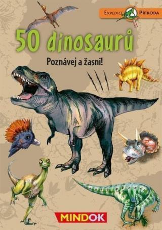 MindOk Expedice příroda: 50 dinosaurů CZ