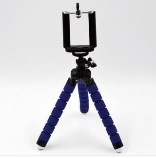 Mini stativ na mobilní telefon - 3 barvy Barva: modrá