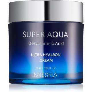 Missha Super Aqua 10 Hyaluronic Acid hydratační pleťový krém 70 ml dámské 70 ml