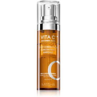 Missha Vita C Plus rozjasňující sérum s vitaminem C proti pigmentovým skvrnám 15 g dámské 15 g
