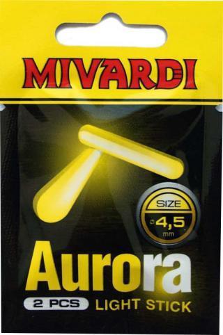 Mivardi Chemické svetlo Aurora 4,5 mm Green