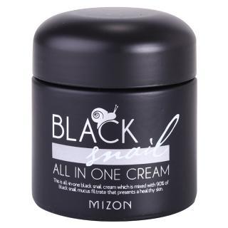 Mizon Black Snail All in One pleťový krém s filtrátem hlemýždího sekretu 90% 75 ml dámské 75 ml