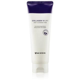Mizon Collagen Milky hloubkově čisticí pěna s kolagenem 150 ml dámské 150 ml