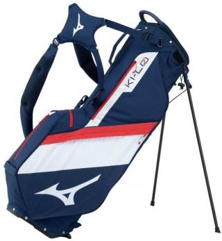 Mizuno K1-LO Stand Bag Navy/Red 2020