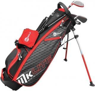 MKids Golf Lite Half Set Right Hand Red 53in - 135cm dámské
