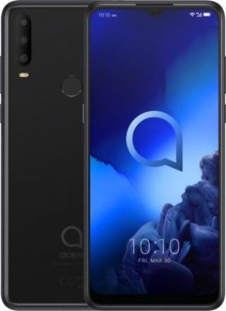 Mobilní telefon alcatel 3x 2019 4gb/64gb, černá