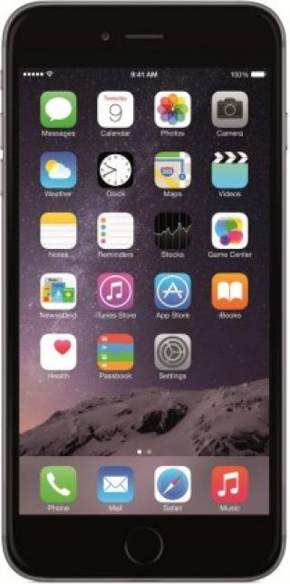 Mobilní telefon apple iphone 6 plus 64gb, šedá