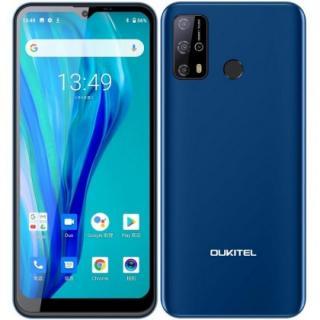 Mobilní telefon oukitel c23 pro 4gb/64gb, modrá