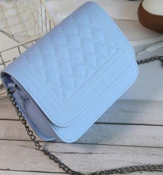 Moderní dámská kabelka psaníčko Barva: modrá